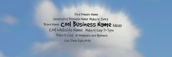 How To Create Cool Business Name for Website