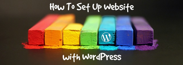 How To Set Up Website With WordPress