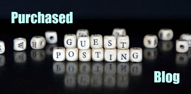 Purchased Guest Posting Blog