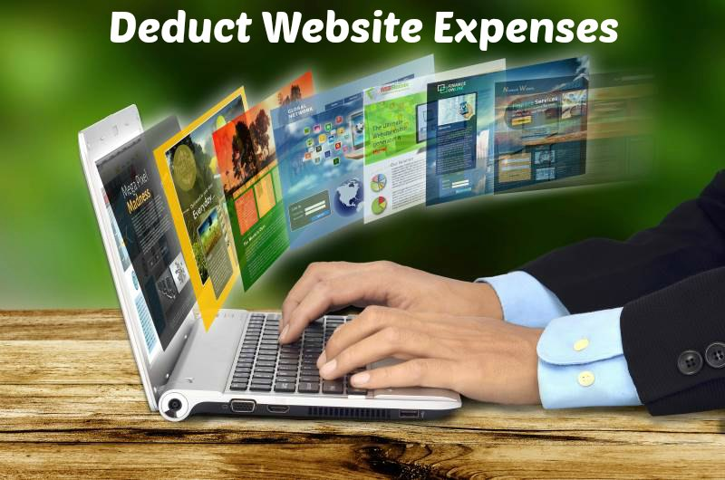 Deduct Website Expenses