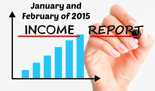 Income Report - January and February of 2015