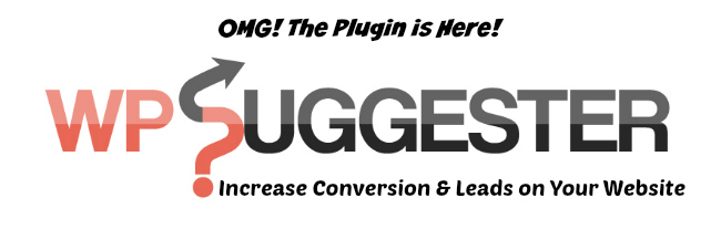 WP Suggester - Increase Conversion & Leads on Your Website