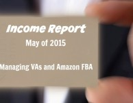 Income Report May of 2015