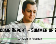Income Report – Summer of 2015